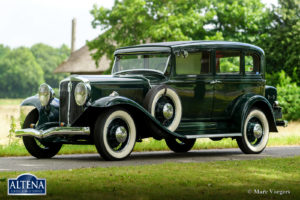 Studebaker President Eight model, 1931