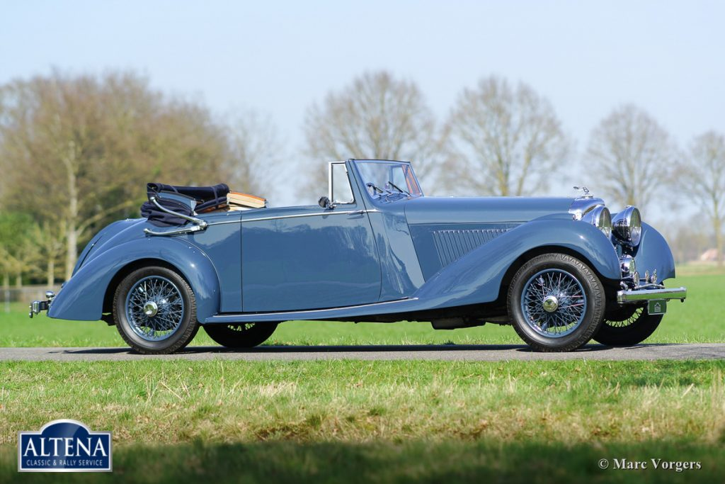 Bentley 4 1/4 litre DHC, 1936