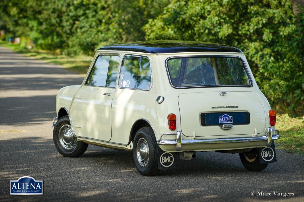Morris Mini Cooper 1000 MK I, 1962