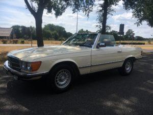 Mercedes 380sl, 1985