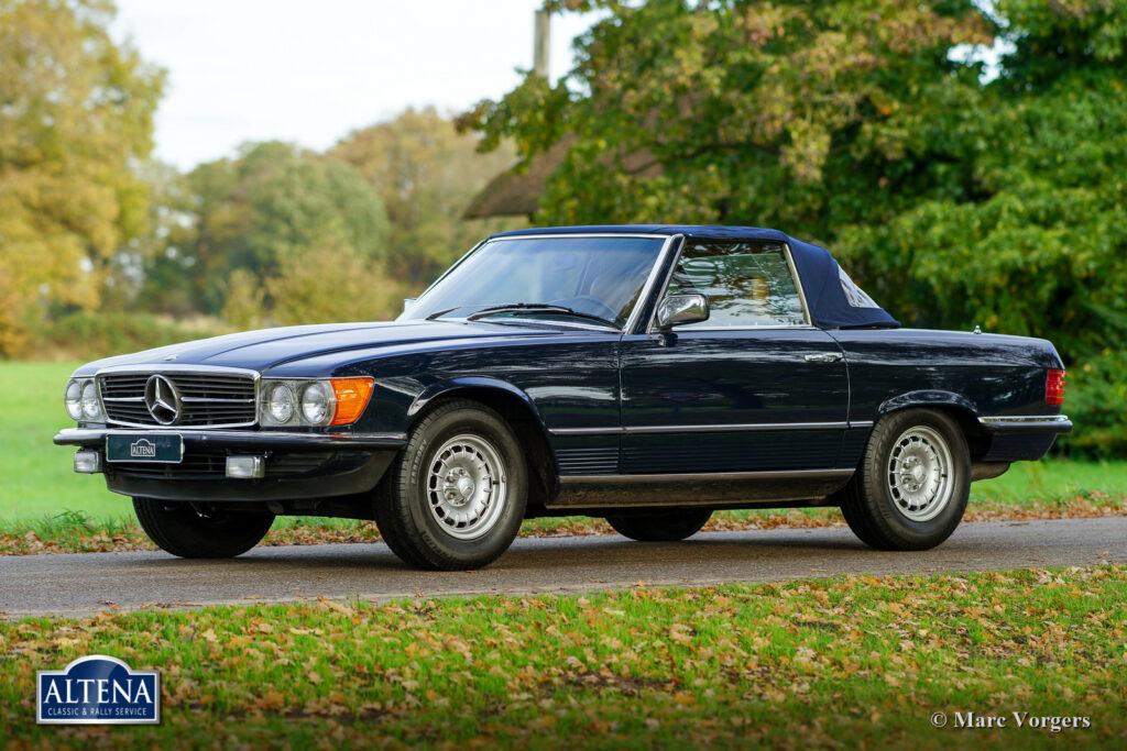 Mercedes 380 SL, 1982