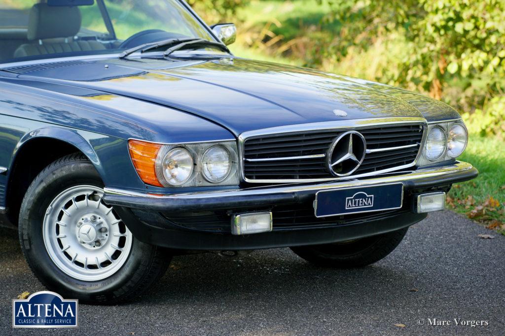 Mercedes 380SL, 1982
