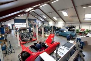 Altena Classic & Rally Service Workshop