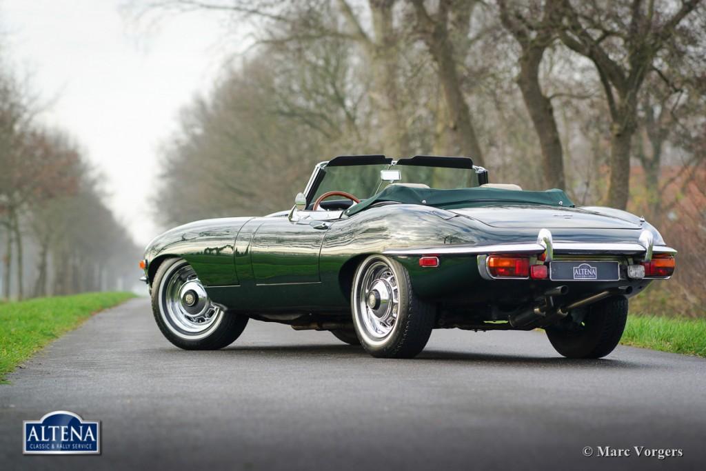 Jaguar E Type Roadster, 1969